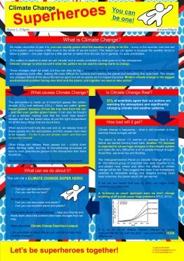 OEC Climate Super Hero Poster